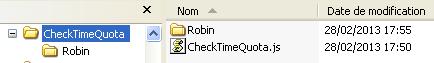 Dossier CheckTimeQuota