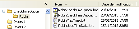 Dossier Robin
